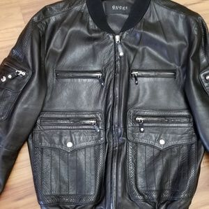 Mens Gucci Leather jacket